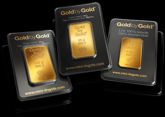 Acheter un Mini-lingot d'Or Gold by Gold